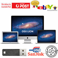Mac OS X Lion 10.7 Installer Bootable USB Drive for macbook Pro Air iMac