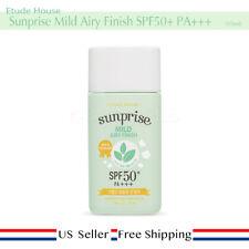 Etude House Sunprise Mild Airy Finish SPF50 PA+++ 55ml + Free Random [US Seller]
