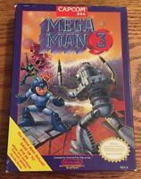 Mega Man 3 Nintendo NES *Box Only* Authentic