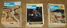 Model Railroader Lot of 73 Issues 1978-1989