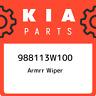 988113W100 Kia Armrr wiper 988113W100, New Genuine OEM Part