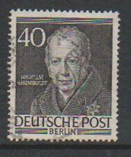 Germany (Berlin) - 1953, 40pf Wilhelm Humboldt stamp - G/U - SG B100