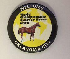 World Championship Quarter Horse Show Oklahoma City Pin