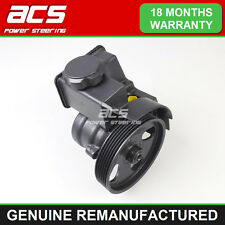 PEUGEOT 206 POWER STEERING PUMP 2.0 HDi DIESEL 1999 TO 2005 - RECONDITIONED