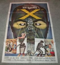 THE MAN WITH THE X - RAY EYES ORIGINAL 1963 RELEASE!
