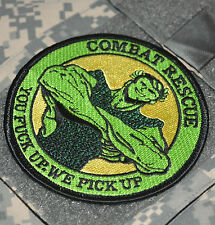 USAF AFSOC DUSTOFF GREEN GIANT COMBAT RESCUE PEDRO PJ TACTICAL MEDICVAC INSIGNIA