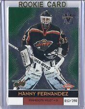 2000-01 VANGUARD MANNY FERNANDEZ PACIFIC SP /390 #126 WILD