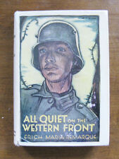 ALL QUIET ON THE WESTERN FRONT by Remarque - 1st printing stated HCDJ 1929 $4.00
