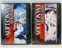 Neon Genesis Evangelion Platinum 1 AND 2 Episodes 1 - 10 Anime Excellent Cond.