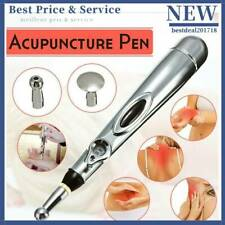 New Electronic Acupuncture Pen Meridian Body Massager Energy Pain Relief Therapy