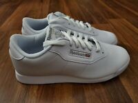 NEW Womens Ladies Shoe REEBOK CLASSIC Leather White Size 10D Wide 10
