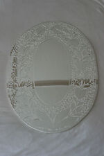Superb Hand Crafted Mosaic Mirror With Flowers Design 70 x 50 Cm Wide