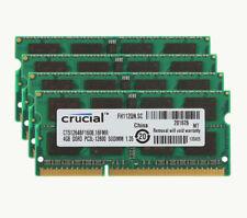 Crucial 4GB/2GB 2RX8 PC3L-12800S DDR3L 1600MHz 204pin Sodimm Laptop Memory RAM
