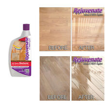 Rejuvenate Floor Restorer Protector suits Wood & Laminate - clean polish shine