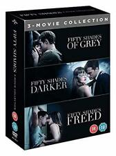 50 Shades Of Grey Complete DVD Set Trilogy 3 Movies Box Set Movies Books Story