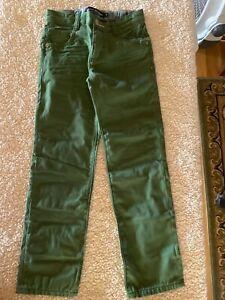 Mini Boden boys jeans green 8Y NIP