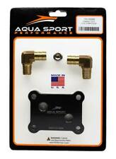 Dual fitting pump cooling plate upgrade for Yamaha 1.8L pwc personal watercraft
