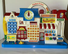 Vintage 1994 Fisher Price Smart Street Playset