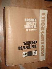 1983 CHEVY TRUCK SERVICE MANUAL SHOP REPAIR BOOK RARE ORIGINAL 10-30 SERIES