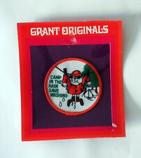 Camping Patch Vintage Humorous Grant Originals