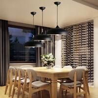 3X Bar Lamp Black Pendant Light Kitchen Chandelier Lighting Room Ceiling Lights