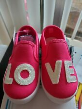 Carters toddler girl shoes, Size 7T