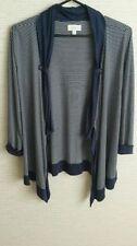 Viscose Machine Washable Striped Regular Coats & Jackets for Women