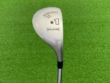 RARE Spalding Golf EXECUTIVE XE 1 HYBRID IRON Right Handed Steel Medium DRIVING