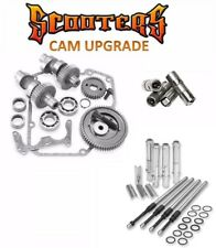 """510G S&S Gear Drive Cams Set Pushrods Lifters Engine Kit Harley 88"""" Twin Cam"""