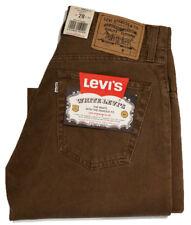 Vintage Levi's 500 Needle Cord Regular Fit  Brown Jeans W28 L32