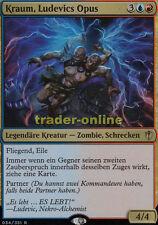 Kraum, Ludevics Opus deutsch (Kraum, Ludevic's Opus) Commander 2016 Magic