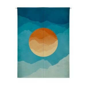 Sun Design Japanese Style Noren Doorway Curtain Hanging Tapestry Home Decors New