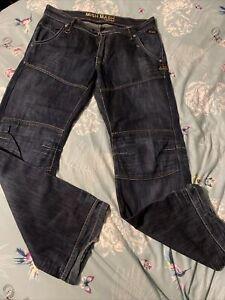 Mens Mish Mash Jeans 36w 32L
