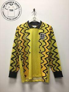 England 1992/1993 Goalkeeper GK football shirt Men's Small