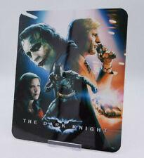 THE DARK KNIGHT - Glossy Bluray Steelbook Magnet Cover (NOT LENTICULAR)