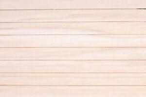 "Dollhouse Miniatures ~ Wood Siding ~ 3/8"" Overlap ~ 3"" x 36"" Long - Pack of 10"