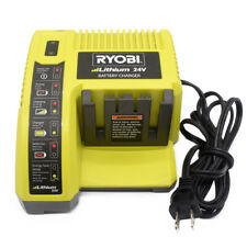 Ryobi 24 Volt Lithium Battery Charger Power OP140 Tested & Working