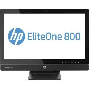 """HP Elite 800 All-in-one 23"""" Win10Pro 240GB SSD 8GB I5 HARD GLASS TOUCH SCREEN!!!"""