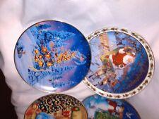 Vintage Avon Christmas Plates