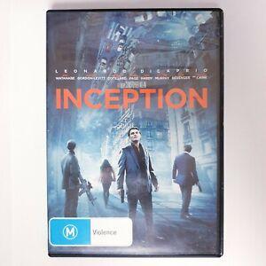 Inception Movie DVD Region 4 AUS Free Postage - Scifi Action Leonardo Dicaprio