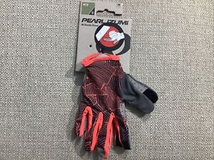 Pearl Izumi woman's Divide Cycling glove Medium $30 Fiery Coral