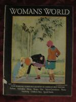 WOMAN's WORLD May 1931 Fannie Kilbourne Lillian Taft Maize Helen St. Bernard