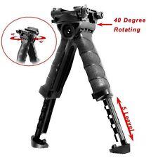Shooting Sticks Foldable Foregrip Swivel Bipod Weaver Picatinny Rail Stock In