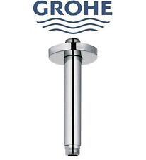 Grohe Rainshower 28724000 StarLight Chrome Finish Shower Arm Ceiling 142mm NIB