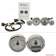 Mercury Marine Boat Smartcraft Gauges 2109112 | Lund Silver White (Kit)