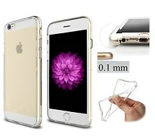 COVER TRASPARENTE ULTRASLIM TPU INVISIBILE SOLO 0.1 mm  PER IPHONE 6 PLUS 5.5""