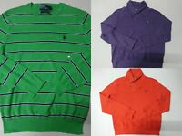 New with Tag Polo Ralph Lauren Men's Sweater Knit Long Sleeve Cotton S-XL