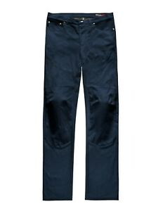 Blauer HT Kevin Canvas Blue Mens Motorcycle Trousers Size 32 *FAST UK DELIVERY*