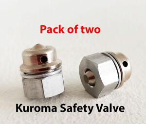 KUROMA Original Safety Valve Pack of 2 -Kuroma Pressure fryer