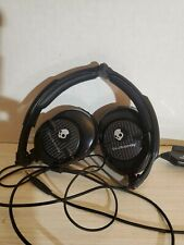 Skull Candy Headphones with Bass amplified subwoofer wired